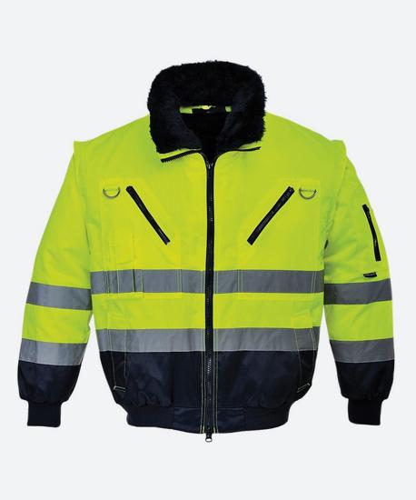 Куртка зимняя сигнальная RZ-7