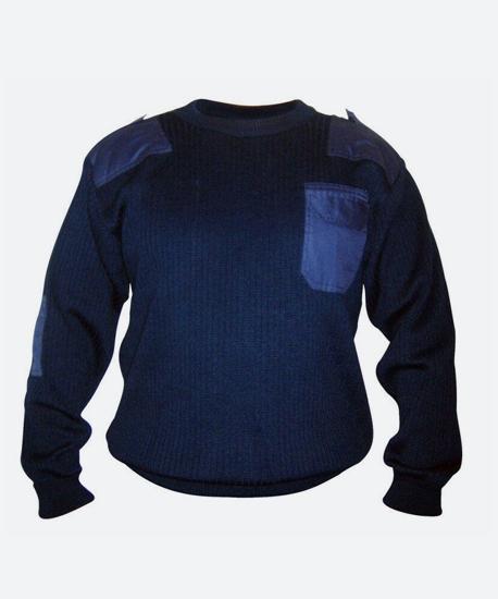 Джемпер охраны темно-синий OT-2